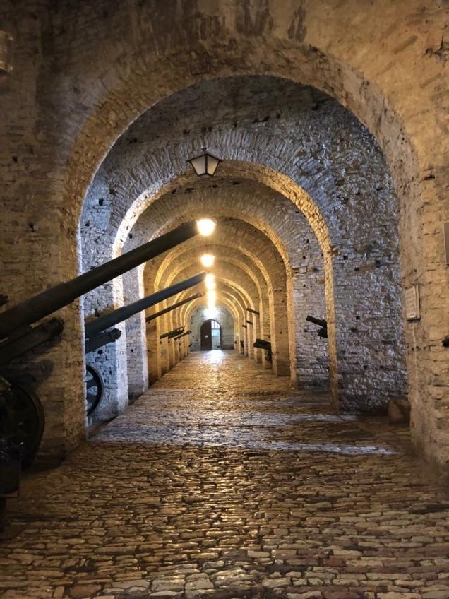 Gjirokaster Castle cannons