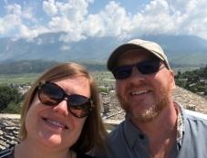 Gjirokaster Castle selfie