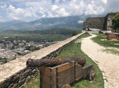 Gjirokaster Castle View