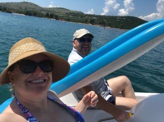 Ksamil paddleboat
