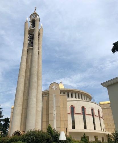 Tirana Greek ortho church